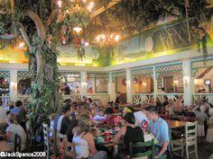 Colonel Hathi's Pizza Outpost in Adventureland Disneyland Paris