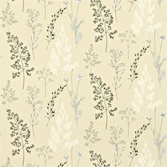 Summer Meadow by Sanderson - Charcoal / Stone : Wallpaper Direct Sanderson Fabric, Pattern Art, Print Patterns, Fabric Design, Print Design, Harlequin Fabrics, Garden Cushions, Fabric Blinds, Campinas