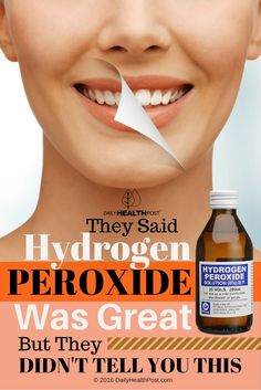 Hydrogen peroxide is perhaps best known for its ability to clean up wounds.