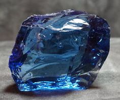 Elestial Sapphire with rainbow Monatomic Andara Crystal 87.8 g.