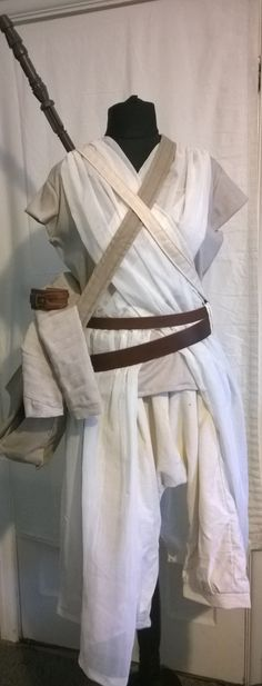 Completed Rey Scavenger cosplay