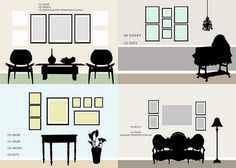 frame layout ideas, this will be a big help with all the frames I need to hang.