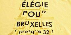 Poésie urbaine en hommage aux disparus du 22 mars 2016. Initiative bientôt exportée de Montréal vers Bruxelles.