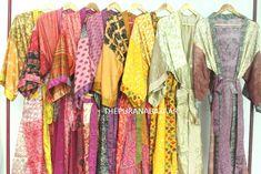 Indian Fabric, Silk Fabric, Cool Fabric, Bridesmaid Robes, Bridesmaid Proposal, Plus Size Robes, Cotton Kimono, Bridal Robes, Funky Fashion