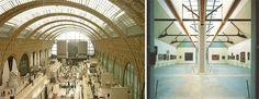 il museo d'Orsay di Gae Aulenti e Piero Castiglioni e la luce naturale