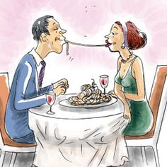 Let's Talk About Sex During Menopause Menopause, Let Them Talk, Let It Be, Couple Illustration, Restaurant, Illustrations, Romantic Travel, Happy Valentines Day, Female Bodies