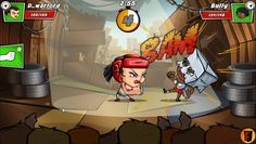 RoShamBo is a Free-to-play, Arena fighting Multiplayer Game with RPG elements based on classic rock-paper-scissors