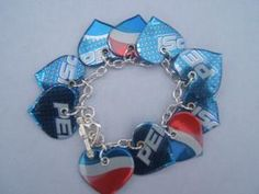 Recycled Jewelry with pop Cans