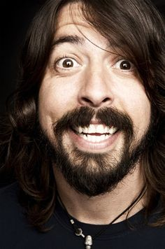 The talent. The voice. The FOO!   Dave Grohl - Foo Fighters