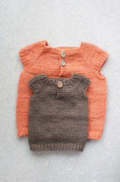 ERIKS VEST // knitting for kids // by Anne Wit // www.g-uld.dk