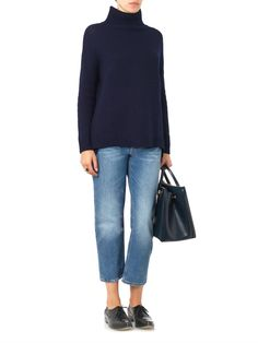 Velvet by Graham & Spencer Jena roll-neck sweater