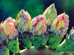 Watercolors of Jonathan Frank