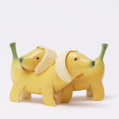 cutesign: Adorable stone resin animal figurines, manufactured by Enesco, looks like they're made from fruits and vegetables. See more here. Which one is your favorite? ❥cutesign