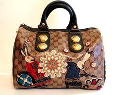 Gucci Authentic Babouska Boston Bunny Bag Limited Edition
