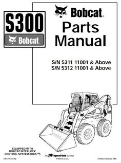 Bobcat s630 skid steer loader series service repair manual
