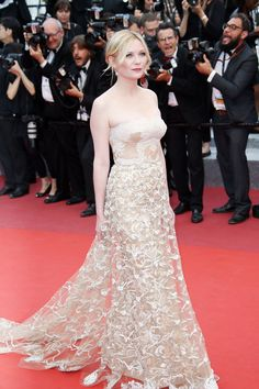 Kirsten Dunst at the closing ceremonies for the 69th annual Cannes Film Festival in Cannes, France, May 2016. Photo by Getty Images.