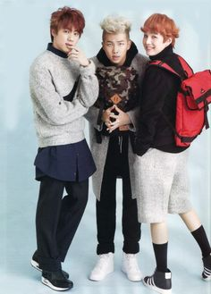 Bangtan Boys ❤ Seokjin (jin), Namjoon (rapmon) & Yoongi (suga)