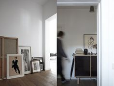 A masculine home in brown and black, via NordicDesign.
