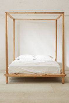 Wondrous Tips: Boho Carseat Canopy canopy entrance bricks.Canopy Over Bed Spaces glass canopy lighting.How To Make A Canopy Life. Wooden Canopy Bed, Canopy Bed Frame, Canopy Curtains, Wooden Bed Frames, Canopy Beds, Tree Canopy, Canopy Bed Girl, Curtains Hooks, Wooden Beds