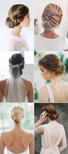 With the weather being less humid, fall brides have a wider range of hairstyles and accessories to consider. From classic up-dos, statement braids, to loose curls, fall bridal hairstyles are romantic and elegant. Autumn-inspiared floral crowns and vintage golden accessories are perfect adornments to completing your gorgeous look. Let our collection of beautiful fall wedding hairstyle trends get you inspired! #longhairstyles