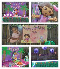 Dora the Explorer Themed Birthday Party | www.signature-soirees.com