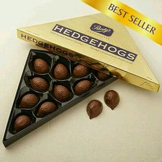 Purdy's hedgehog chocolates from Canada ♡