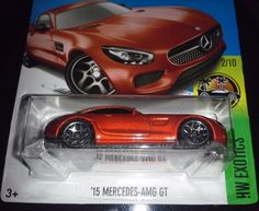 Nice Mercedes 2017 - HOT WHEELS 2017  EXOTICS #2/10  '15 MERCEDES - AMG GT  (DARK ORANGE)  #HotWheels...  diecast papa/ hot wheels & more Check more at http://carsboard.pro/2017/2017/08/05/mercedes-2017-hot-wheels-2017-exotics-210-15-mercedes-amg-gt-dark-orange-hotwheels-diecast-papa-hot-wheels-more/