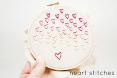 flashback friday // heart stitches