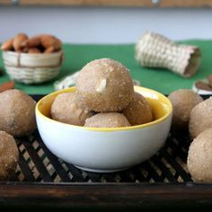 Whole wheat Ladoos- A very easy to make traditional Indian sweet. Perfect for winter.