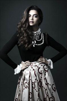 Deepika Padukone for paper magazine