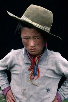 Tibetan boy. by Steve Mccurry. and he's my favorite kid in the whole world wide web ever ever ever;d