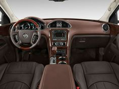 2015 Buick Enclave Interior, so sleek!  #2015buickenclave