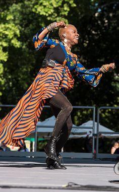 Benineseborn American musician Angelique Kidjo performs onstage at Central Park SummerStage New York New York June 7 2015