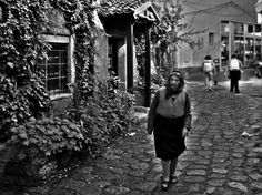 Old alley in Struga, Macedonia.
