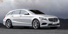 Mäin zukunftegen Pampersbomber! Mercedes CLA Shooting Brake in the works