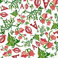 Alpha Phi print by Francesca Joy https://www.facebook.com/francescajoypalmbeach