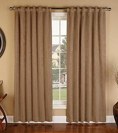 Bedford Manor Amy Back Tab Window Curtain