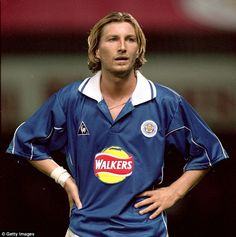 Robbie Savage is now a pundit, then he was a Foxes hero with a questionable soul patch
