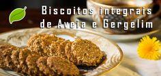 TESTADO - MUITO BOM - APLV, sem leite, ovo e soja - Biscoitos integrais de Aveia e Gergelim: 100% vegano.