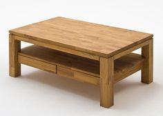 Couchtisch Holz Gordon Asteiche Massiv 8823. Buy now at https://www.moebel-wohnbar.de/couchtisch-holz-gordon-wohnzimmertisch-asteiche-mit-schublade-8823.html