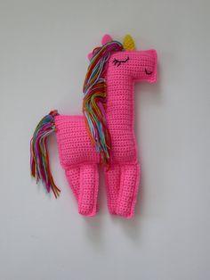 Unicorn, Unicorn Ragdoll, Amigurumi Unicorn, Rainbow Unicorn, Ragdoll Amigurumi Unicorn, Pink Crochet Unicorn, Ragdoll Unicorn Plush Toy by AlexsGiftShop on Etsy