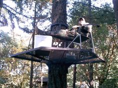 tree stand | Tree House Construction (THC) Presents the Portable Zip Perch and ...