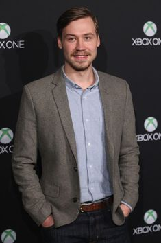 David Kross Photos - Actor David Kross attends the Microsoft Xbox One launch party at the Microsoft Center on November 21, 2013 in Berlin, Germany. Microsoft is launching the new console to compete against the new Sony Playstation 4 ahead of Christmas. - Microsoft Launches Xbox One in Germany Launch Party, Berlin Germany, Xbox One, Playstation, Microsoft, Console, Sony, November, Suit Jacket