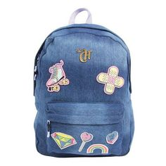 Foto 1 - Mochila Casual Capricho 11010 - Dermiwil Kindergarten Outfit, School Pencil Case, Recycle Jeans, Herschel Heritage Backpack, Luggage Bags, School Supplies, Girly Things, Fashion Backpack, Cute Babies