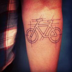 Bike Tattoo (by Michiel van der Born)