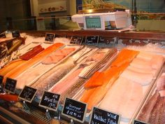 #Eataly: there were a lot of #fish options...