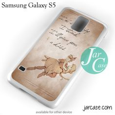 Peter Pan And Wendy Quote Phone case for samsung galaxy S3/S4/S5