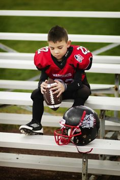 Youth Football photo idea