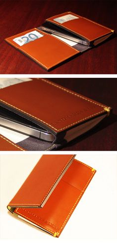 Pretty cool iPhone 4/4s Wallet... and it's from a local Minneapolis company.