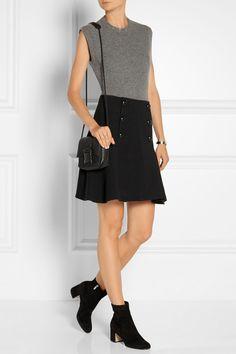 Proenza Schouler|Crepe mini skirt|NET-A-PORTER.COM